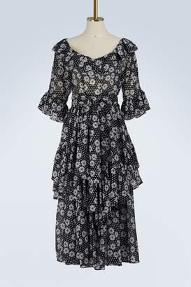 Lisa Marie Fernandez Laura ruffle dress
