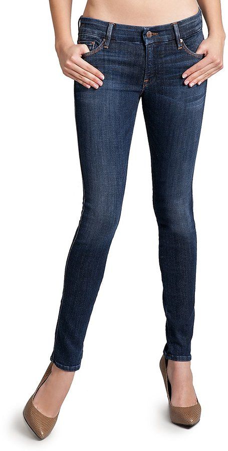 The Skinny Jean No. 61 - Dark Vintage Wash with Studs