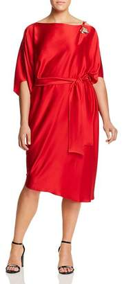Marina Rinaldi Danzante Draped Tunic Dress