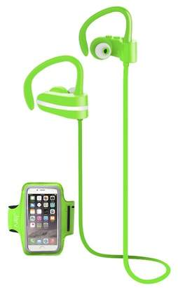 Jarv Green MACH 1 Sport Wireless In-Ear Bluetooth Headphones with Universal Sports Armband