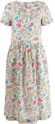 YMC floral printed day dress
