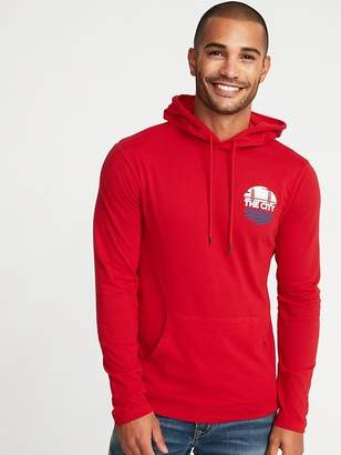 Old Navy Lightweight Graphic Pullover Hoodie for Men