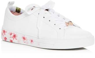Ted Baker Women's Kelleip Leather Lace Up Platform Sneakers