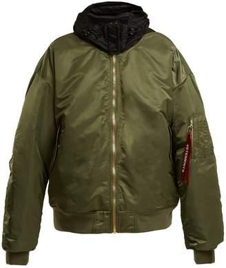 Vetements Oversized bomber jacket