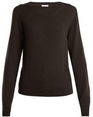 Tomas Maier Round Neck Cashmere Sweater - Womens - Khaki