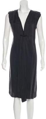Lanvin Sleeveless Midi Dress