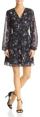 Sam Edelman Floral Pintuck Dress