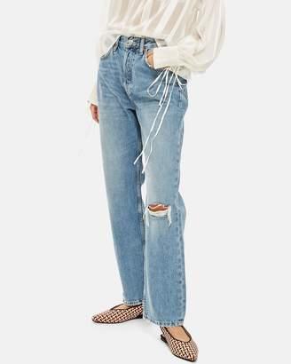 Topshop Rip New Boyfriend Jeans