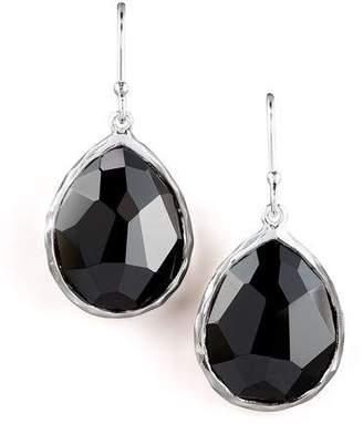 Ippolita Small Teardrop Earrings, Black Onyx