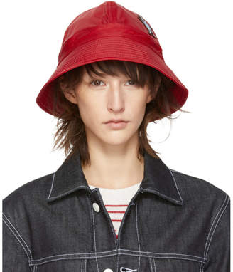 Marni Dance Bunny Red Bunny Patch Bucket Hat