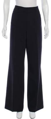 Cacharel High-Rise Flared Pants