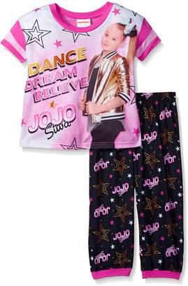 Nickelodeon Big Girls' Jojo Siwa 2-Piece Pajama Set