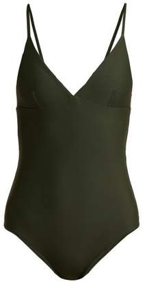 Matteau - The Plunge Swimsuit - Womens - Dark Green