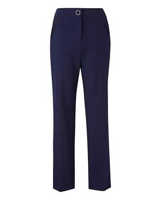 Fashion World Straight Leg Tailored Trouser Reg