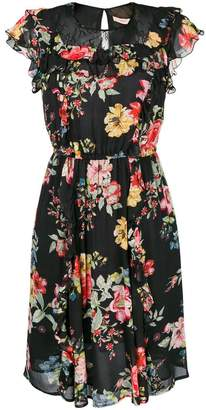 Twin-Set floral print flared dress