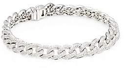 Sydney Evan Women's Pavé Diamond & 14K White Gold Link Bracelet