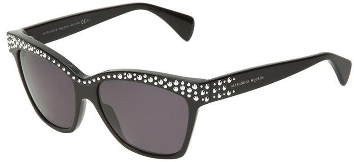 Alexander McQueen 'Bubble Stud' sunglasses
