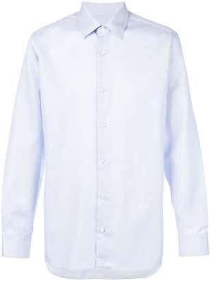 Z Zegna classic long sleeve shirt