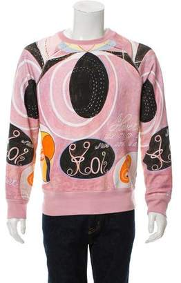 Acne Studios Print Crew Neck Sweater