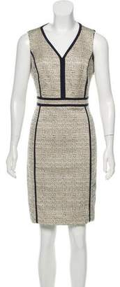 Tory Burch Emma Tweed Sleeveless Dress