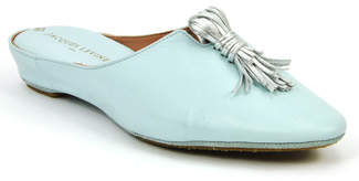 Jacques Levine #18703 - Leather Tassel Slipper