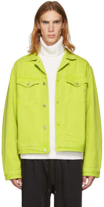 Cmmn Swdn Yellow Brandon Denim Jacket