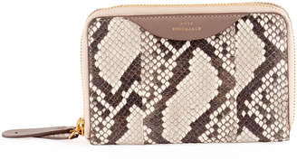 Anya Hindmarch Snakeskin Stack Double Wallet