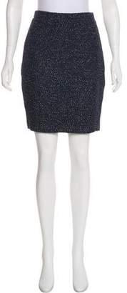 Couture St. John Tweed Mini Skirt