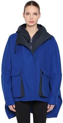 Sportmax Hooded Wool Blend Jacket