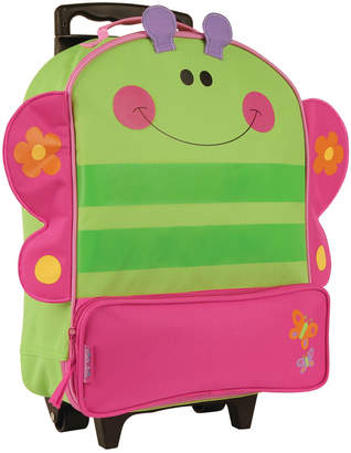 Stephen Joseph Butterfly Character Rolling Luggage