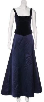 Ralph Lauren Black Label Corset Skirt Set