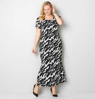 Avenue Textured Maxi Dress
