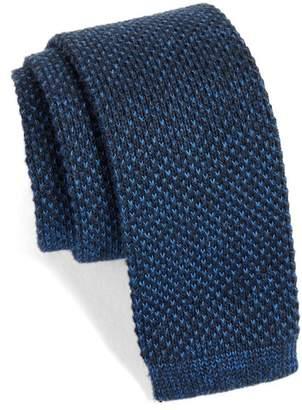 Nordstrom Skinny Knit Cotton Tie