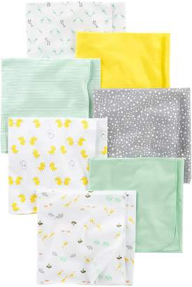 Carter's Simple Joys by Baby 7-Pack Flannel Receiving Blankets