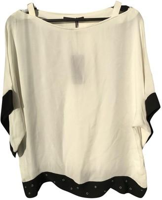 Laurèl White Silk Top for Women