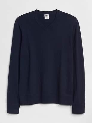 Gap Budding V-Neck Pullover Sweater