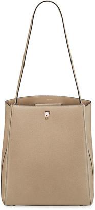 Valextra Saffiano Brera Shoulder Bag