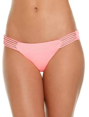 Just Beach Women's Hipster Pant With Side Insets
