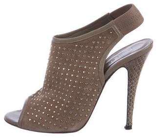 Jenni Kayne Suede Studded Sandals