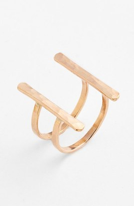 Women's Ija Double Bar Open Ring $65 thestylecure.com