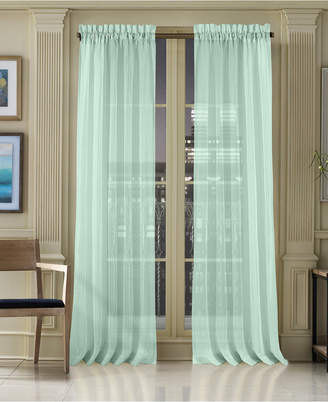 "J Queen New York Waterbury Sheer 50"" x 95"" Rod Pocket Curtain Panel"