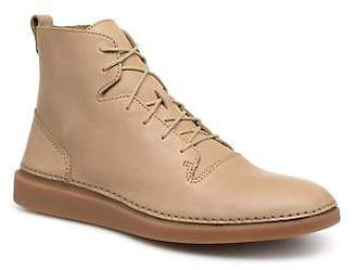 Men's Hale Rise Lace-up Ankle Boots in Beige