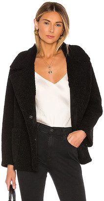 Velvet by Graham & Spencer Yoko Sherpa Coat