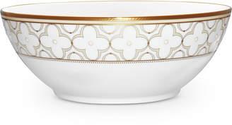 Noritake Trefolio Gold Dinnerware Collection Round Vegetable Bowl