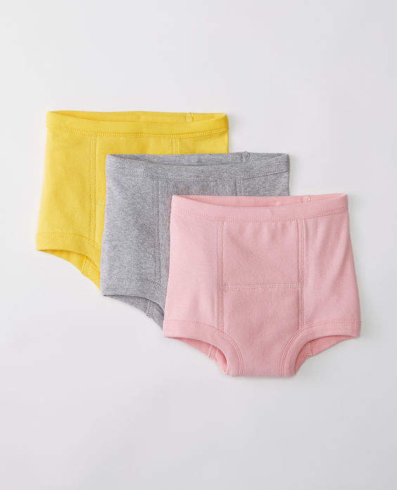 Training Unders 3 Pack In Organic Cotton