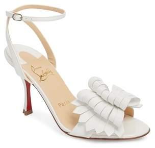 Christian Louboutin Miss Valois Bow Ankle Strap Sandal