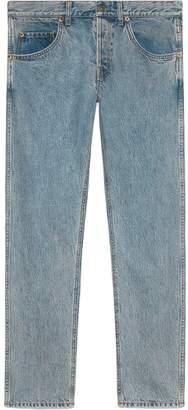 Gucci Denim tapered pants
