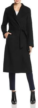 T Tahari Elliot Double Collar Coat