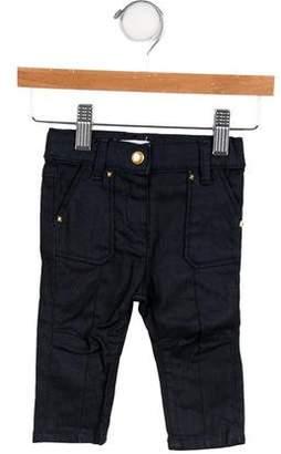 Little Marc Jacobs Girls' Embellished Skinny Jeans