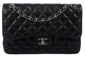 Chanel Caviar Classic Jumbo Double Flap Bag